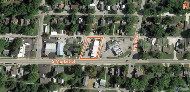 Site Map for 610 S Market, Waterloo, IL 62298