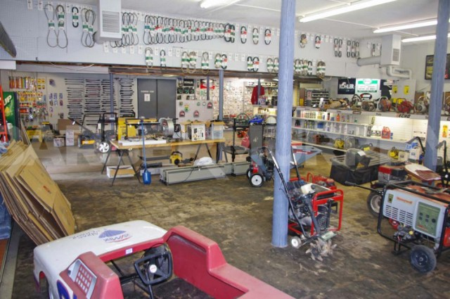 Interior Image for Small Engine Repair Shop and Parts Dealer, 610 S Market, Waterloo, IL 62298