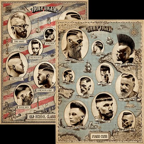 oldschool classics flash cuts poster