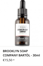 Brooklyn Soap Company Bartöl