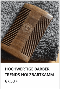 Barber Trends Bartkamm