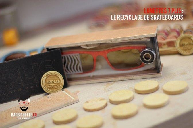 7Plis - Boite en bois, plexiglas avec roulement intégré