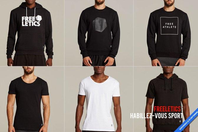 Vêtements Freeletics - Une partie des produits hommes