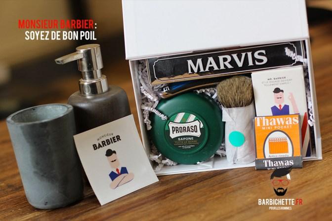 Monsieur Barbier - Un kit rasage pour bien commencer