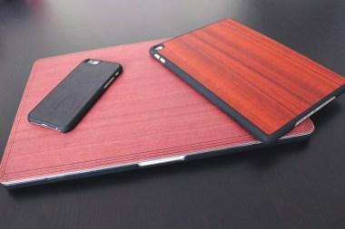 Coque en bois pour Macbook