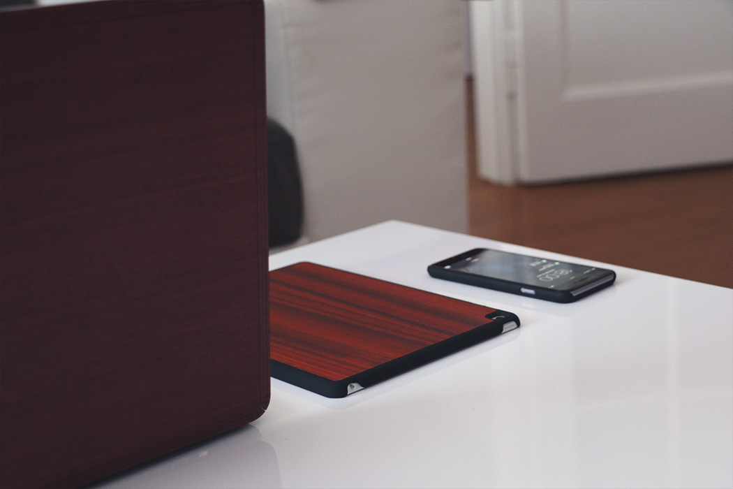Coques en bois smartphone