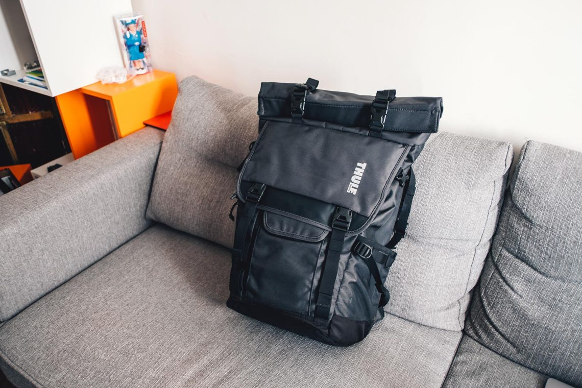 Sac photo Thule Covert DSLR RollTop BackPack Test