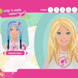 Choose A Hairstyle And Make It For Barbie Or Your Own Style This Is Professional Game