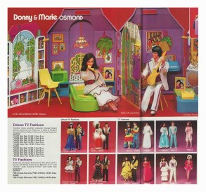 2333 Holiwood Home Playset Donny & Marie Osmond