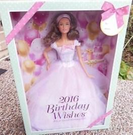 2016 Birthday Wishes Barbie® Doll brunette