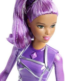 Barbie Star Light Adventure Lights & Sounds Hoverboarder face