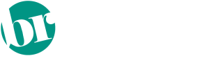 Barbie Ray Designs logo in white text listing design specialties