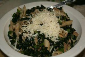 Garlic-Kale-Tuna Casserole