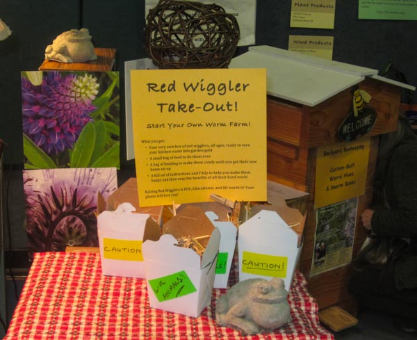 Red Wiggler Take-out