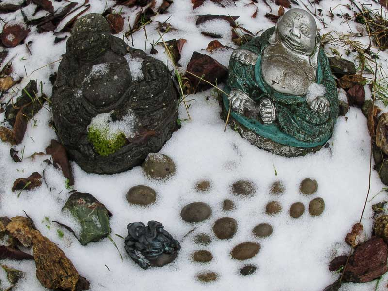 Buddhas in the Garden