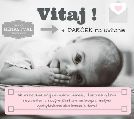 Prihlás sa na odber newslettra http://barboramaviktoriu.sk