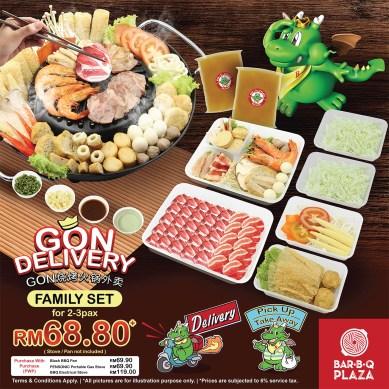 GonDelivery - Family Set