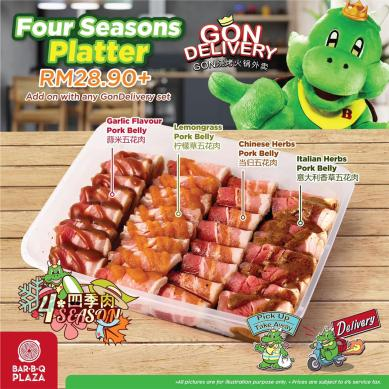 GonDelivery - Four Seasons Platter