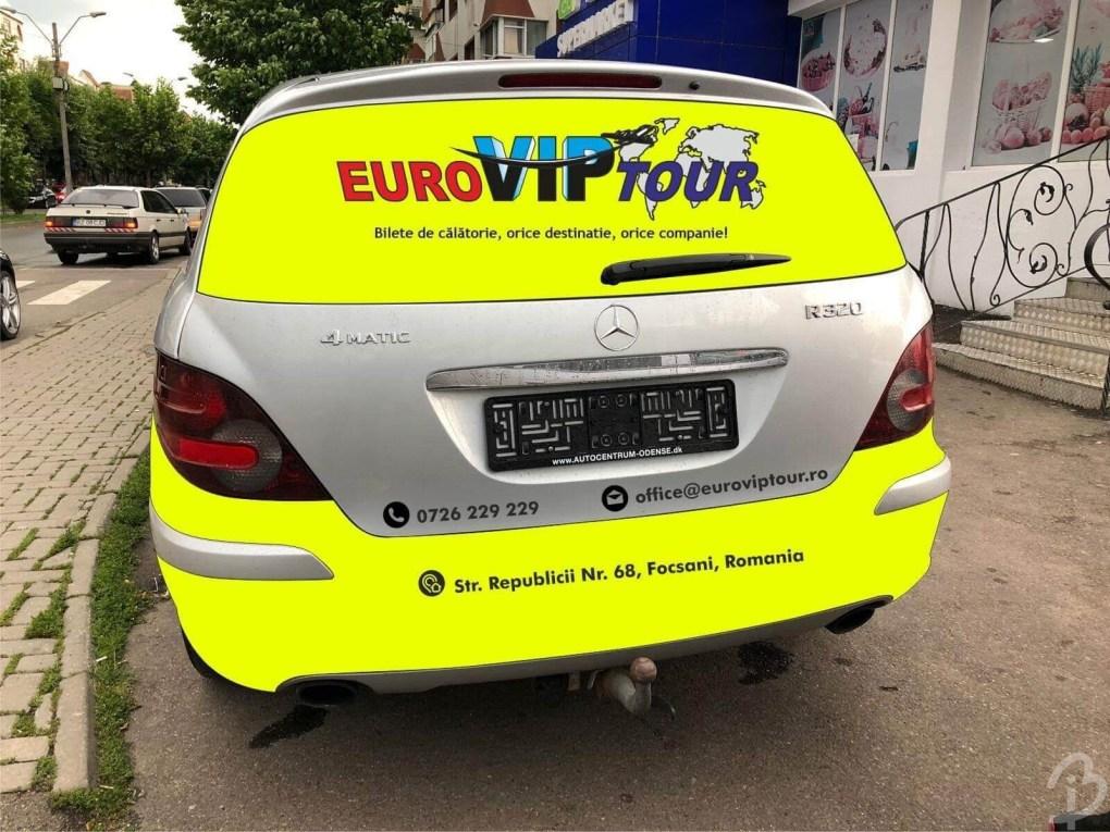 Grafică Mașină Euroviptour Spate Barbuiulian.com