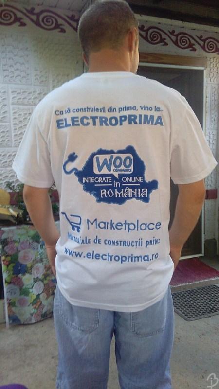 Grafică Tricou Personalizat Electroprima Spate Barbuiulian.com
