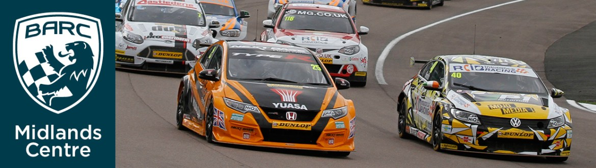 BTCC at Rockingham Motor Speedway