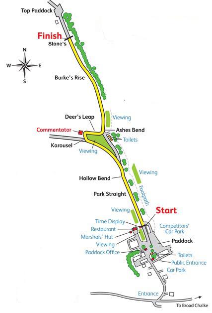 Gurston Down Hillclimb Course