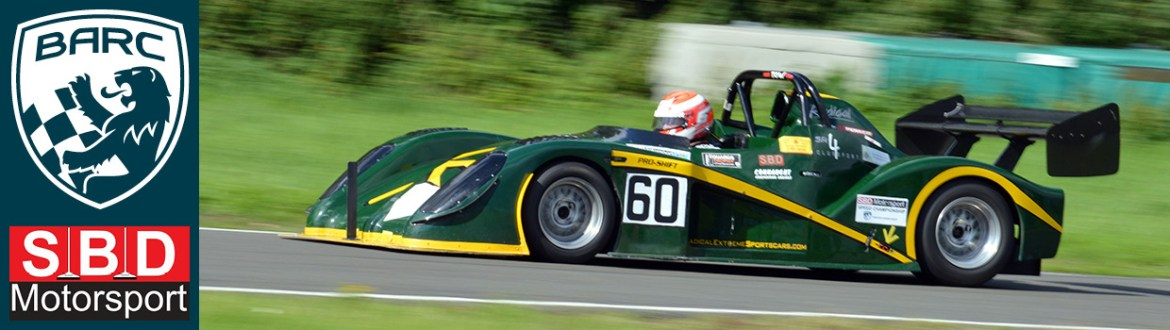 Clive Wooster's Radical at Curborough For Round 17 - 12 August 2017