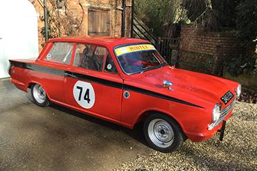Callum Barney Ford Cortina GT
