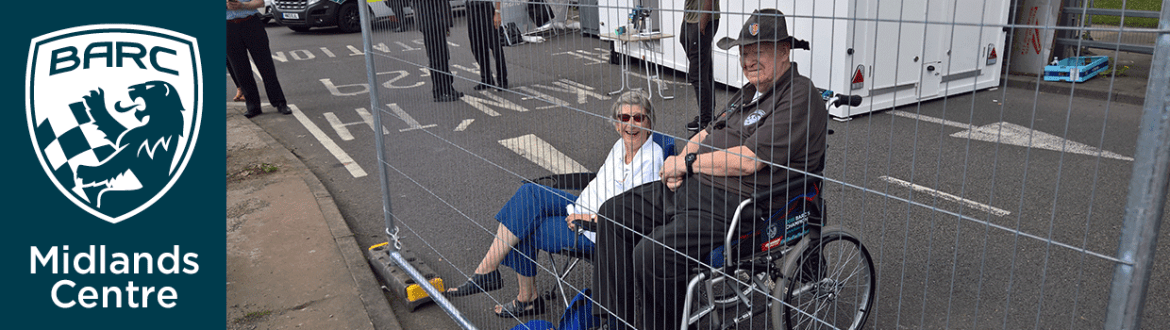Noreen & Alan Ward at MotoFest Coventry 2018