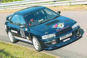 Chris Berrisford - Subaru Impreza