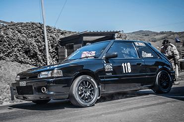 Chris Edwards - Mazda 323 GTX