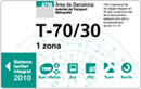 bilet rodzinny T-70/30 Barcelona