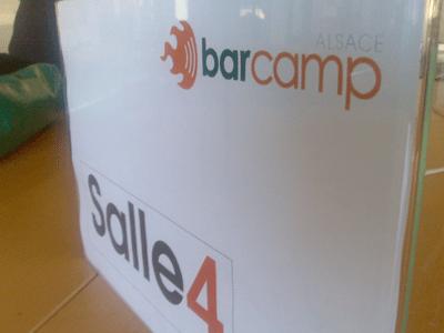 préparation du premier BarCampAlsace