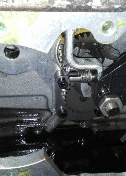 Revisie van een motor