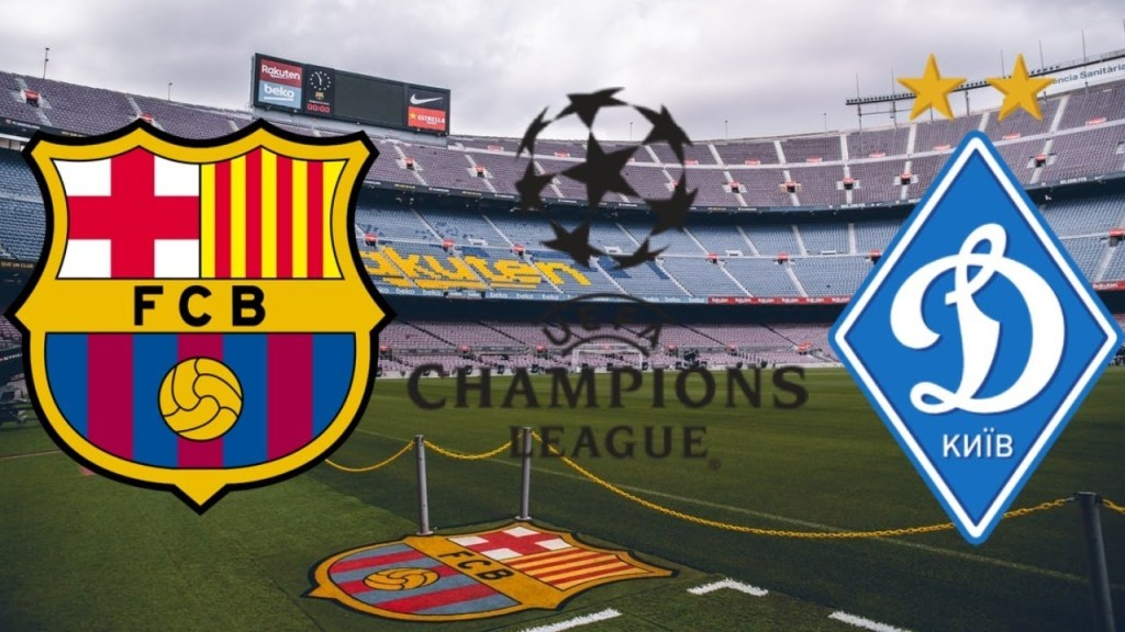 Match Preview: Fc Barcelona vs Dynamo Kyiv