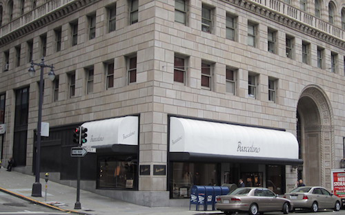 Barcelino Men's Store at Union Square in San Francisco
