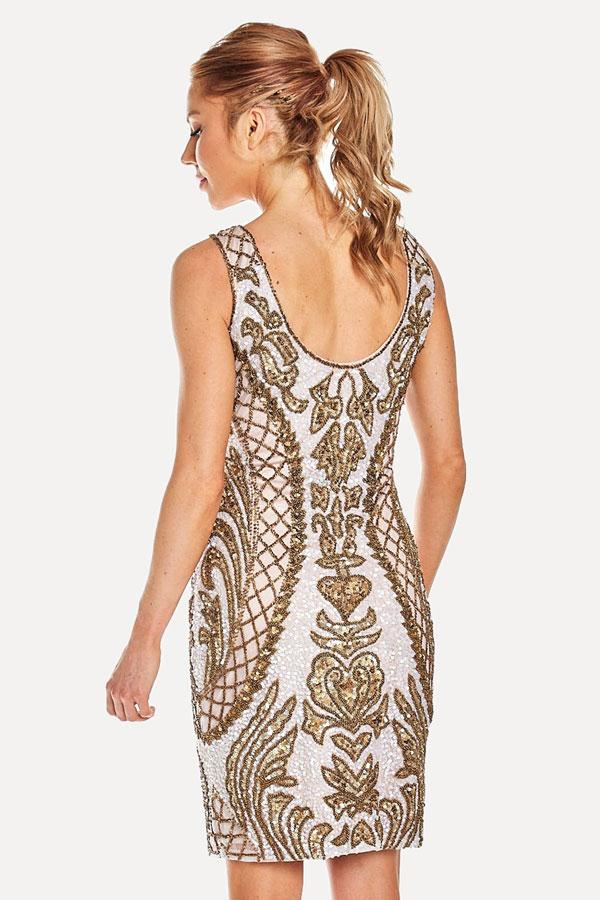 Shorter Deco Inspired Cocktail Dress