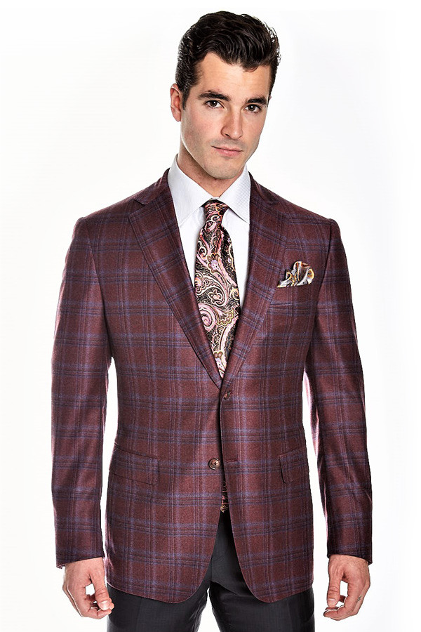 Ravazzolo-Jacket in Super 130's Wool Flannel