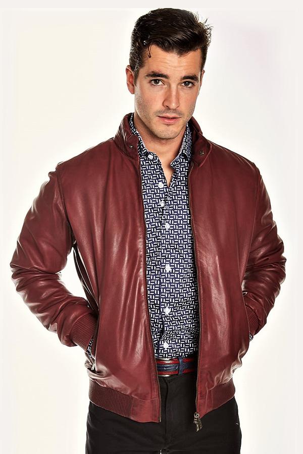 Torras Lamb Leather Zip Blouson