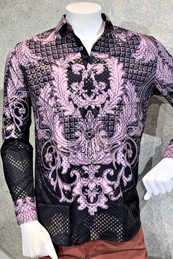 Sport Shirt, Ala Versace Print. Modern Fit.