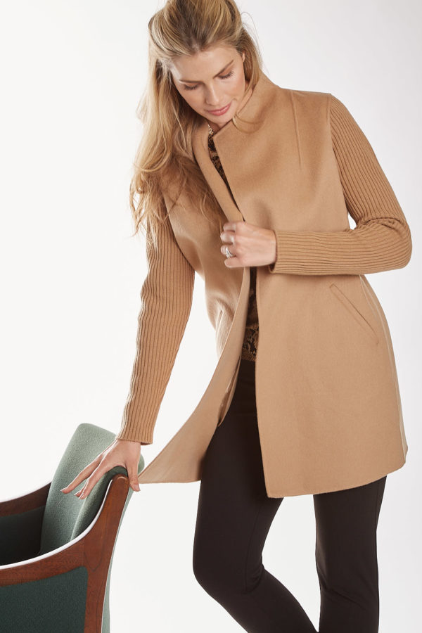 Cashmere/Wool Luxury Coat