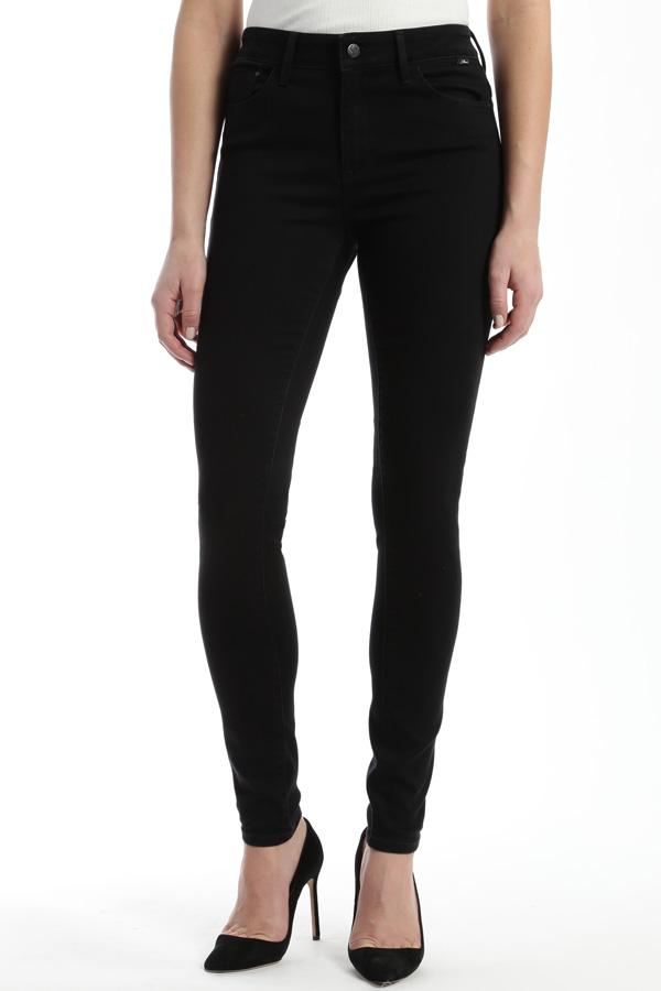 Denim, High Waisted Jet Black Jean