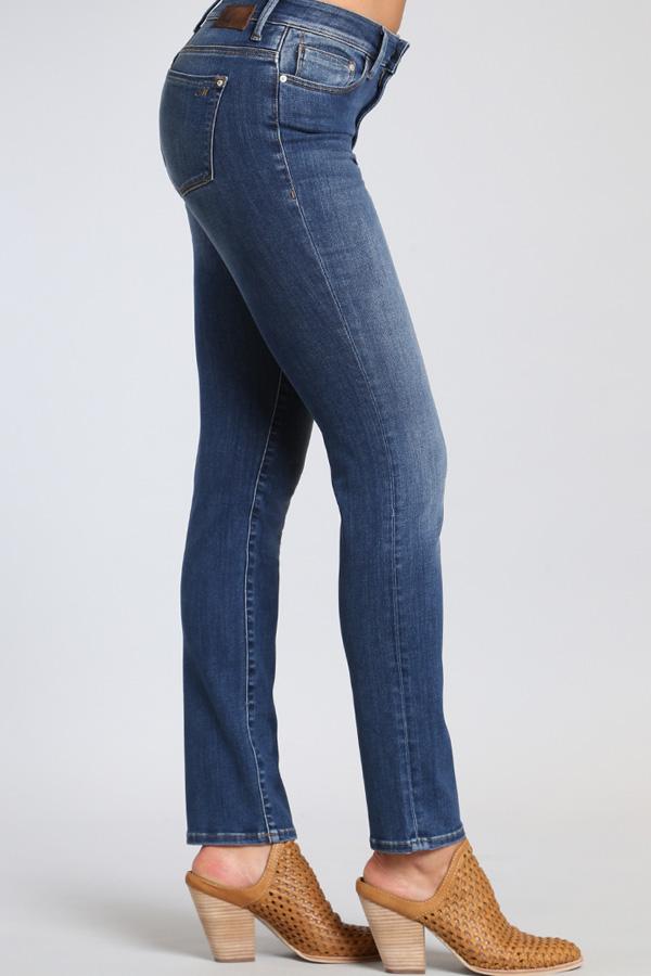 Denim, Washed Straight Legged Jean