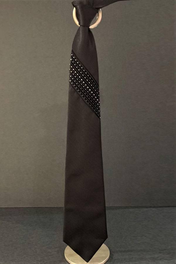 Pancaldi 100% Silk Evening Formal Tie