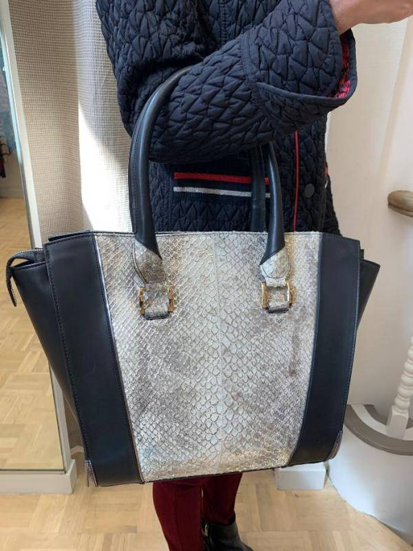 Large Leather Tote Spain