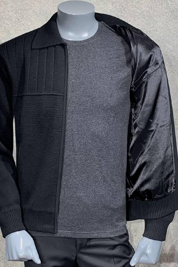 Knit Blouson Sweater