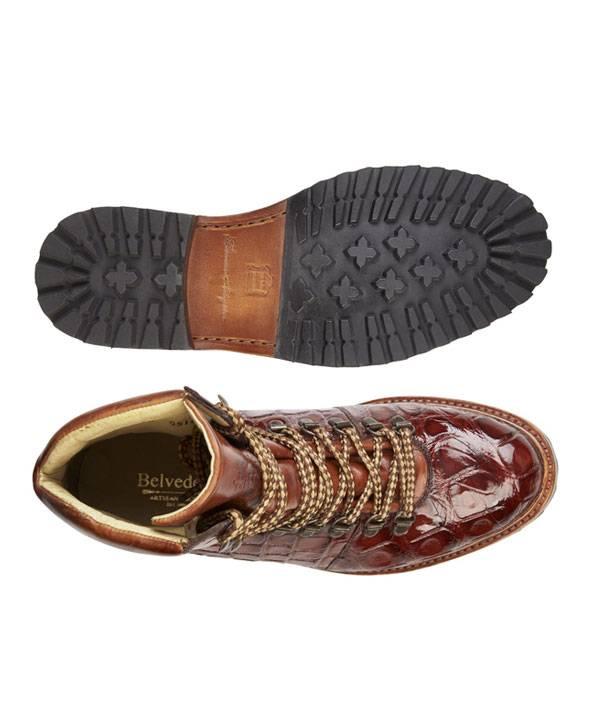Urban Sport Boot-Genuine Alligator and Italian Calf