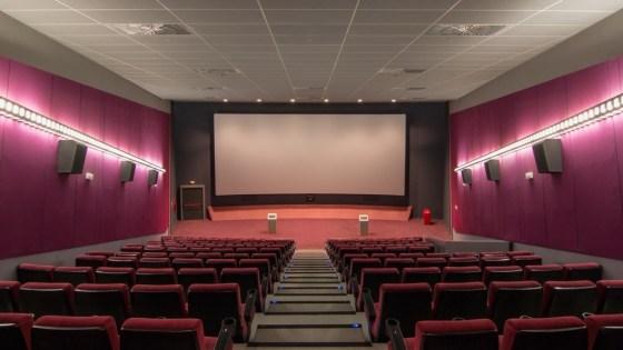 Foto de una sala de cine de Barcelona