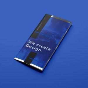 Imagen de un díptico diseñado por Metacom BCN