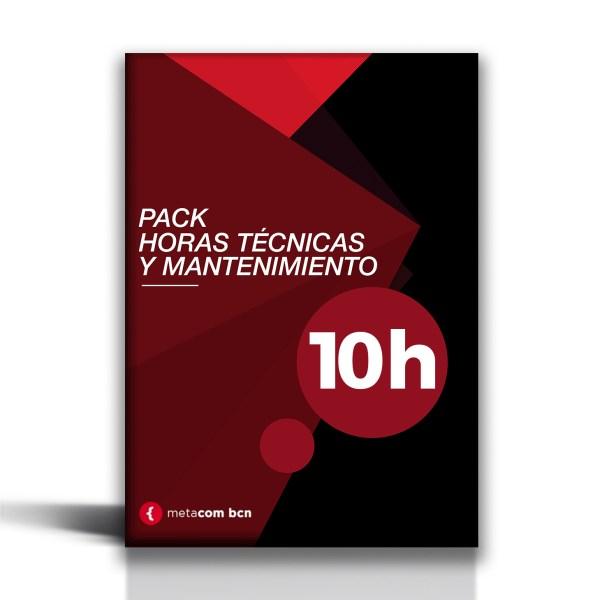 Pack de mantenimiento web y horas técnicas de 10 horas